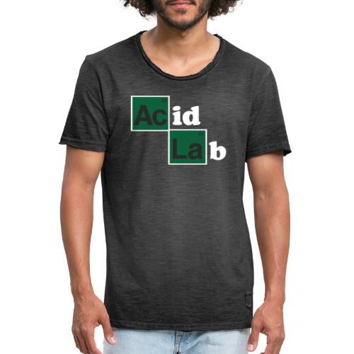 Acid Lab 1 - Camiseta vintage hombre
