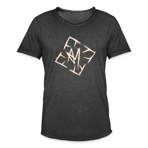 Across Yourself - Logo white transparent - Men's Vintage T-Shirt