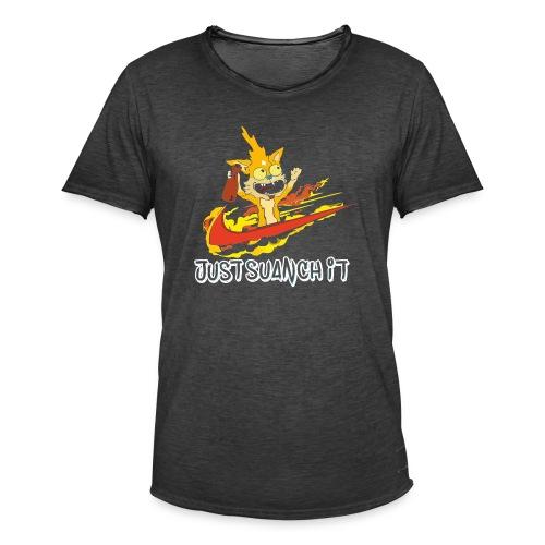 SQUANCH - Camiseta vintage hombre