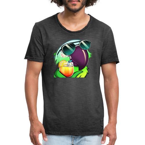 Cool Parrot - Männer Vintage T-Shirt