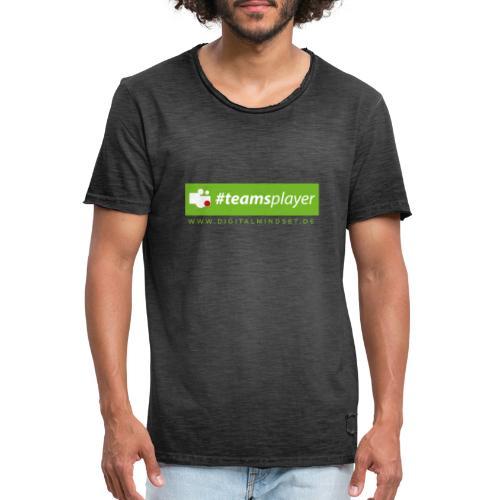 #teamsplayer - Männer Vintage T-Shirt