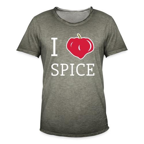 i_love_spice-eps - Miesten vintage t-paita