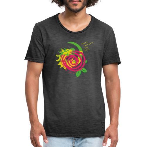 saint george's sant jordi - Camiseta vintage hombre