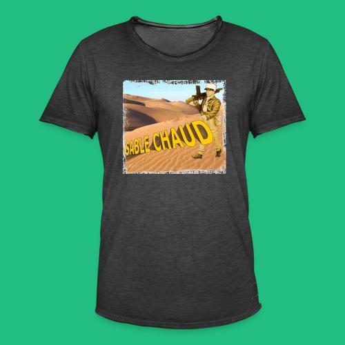 sable chaud - T-shirt vintage Homme