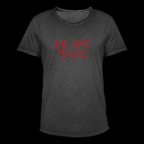 BAD VIBES FOREVER - Herre vintage T-shirt