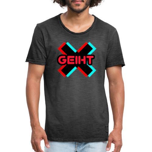 Geiht - Camiseta vintage hombre
