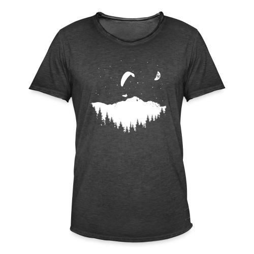Night Paragliding - Männer Vintage T-Shirt