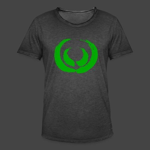 Marker Gewaff Grün - Männer Vintage T-Shirt