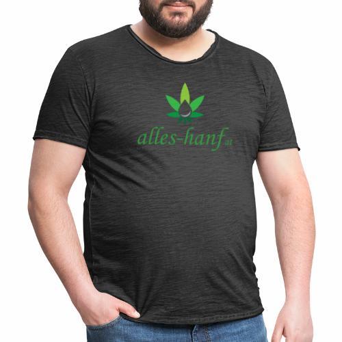 alles hanf at - Männer Vintage T-Shirt