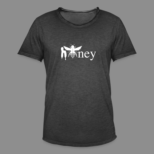 Honey (White version) - Men's Vintage T-Shirt