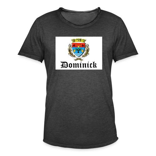 dom 5 - T-shirt vintage Homme