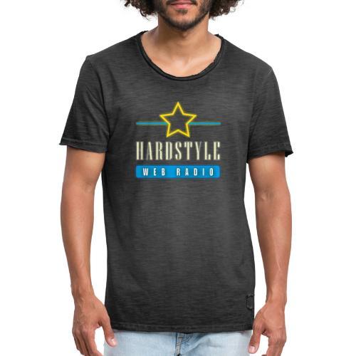 hardstyle webradio logo - Mannen Vintage T-shirt