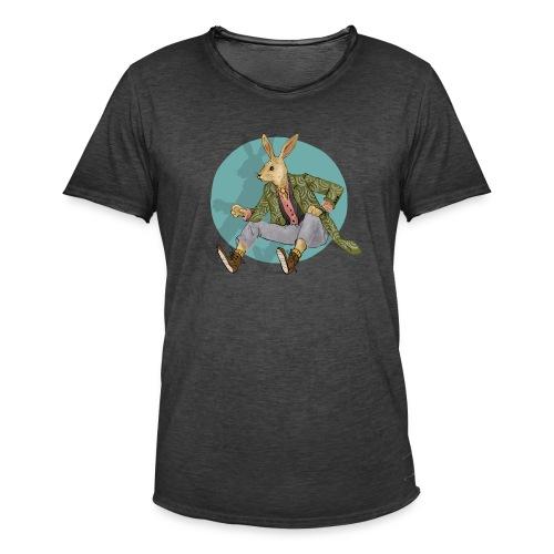 RABBIT girl - Men's Vintage T-Shirt
