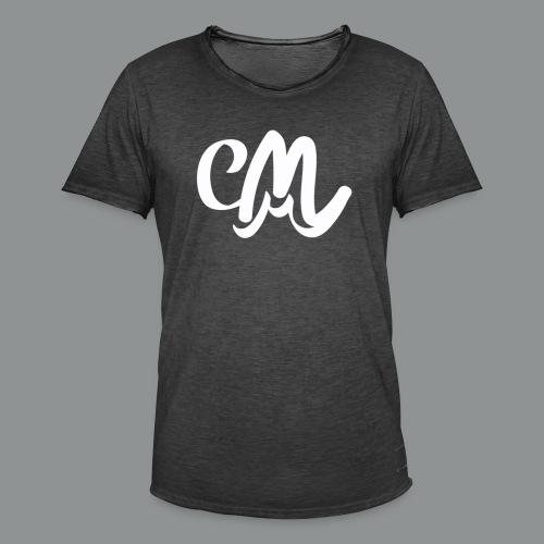 Vrouwen Shirt (voorkant) - Mannen Vintage T-shirt