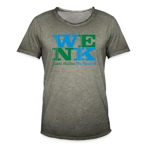 WENK - T-shirt vintage Homme