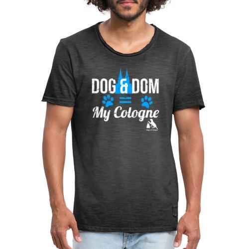 Dog & Dom = My Cologne - Männer Vintage T-Shirt