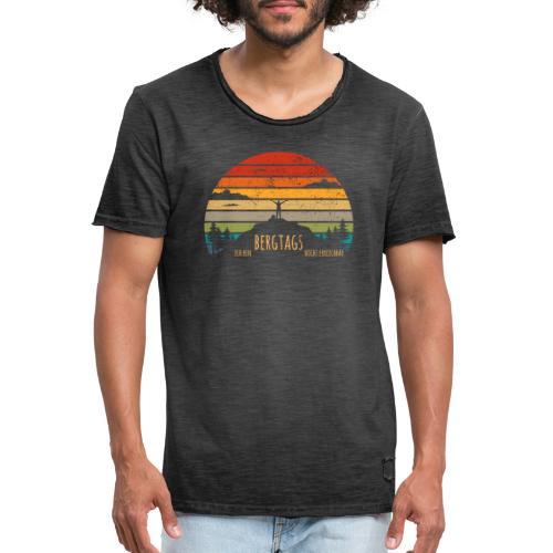 lustige Wanderer Sprüche Shirt Geschenk Retro - Männer Vintage T-Shirt