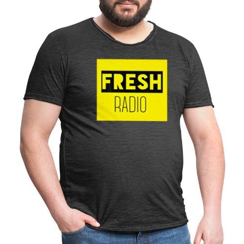 FreshRadio LOGO - Men's Vintage T-Shirt