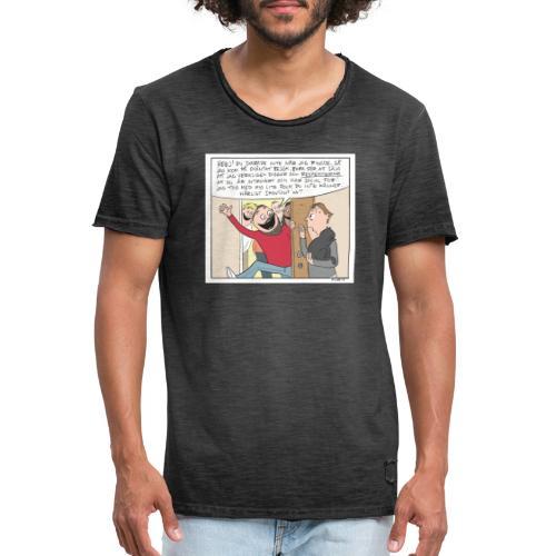 introvert - Vintage-T-shirt herr