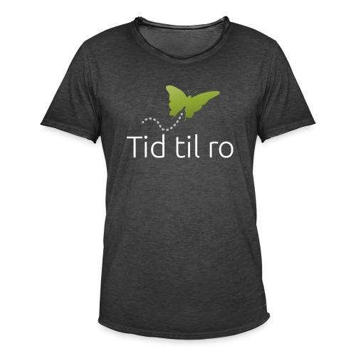 Tid til ro - Herre vintage T-shirt