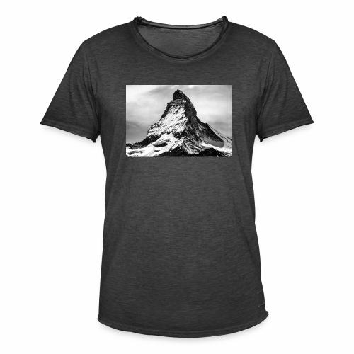 Matterhorn - Männer Vintage T-Shirt