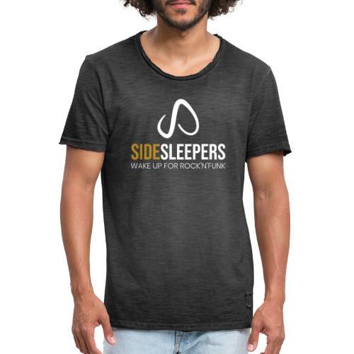Sidesleepers - Männer Vintage T-Shirt