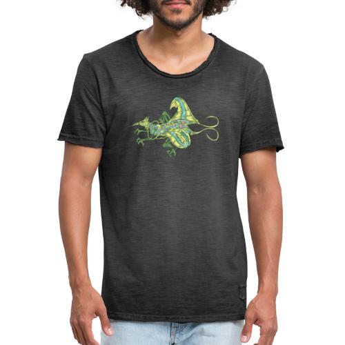 190610 bird prehistoric auxia - Camiseta vintage hombre