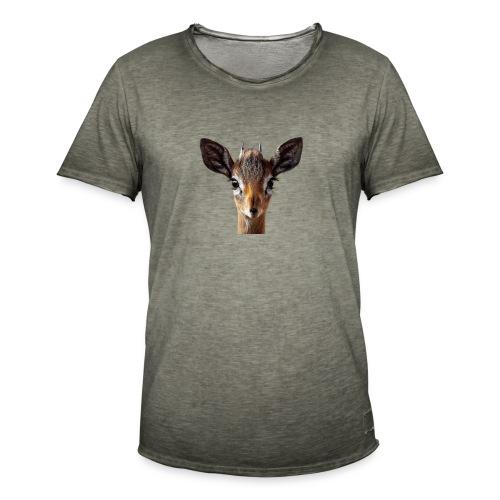Antilope, Dik - Männer Vintage T-Shirt
