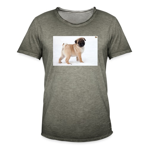 walker family pug merch - Men's Vintage T-Shirt