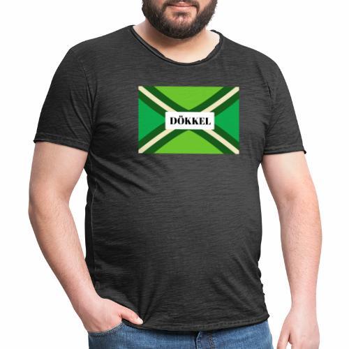 Dokkel - Mannen Vintage T-shirt