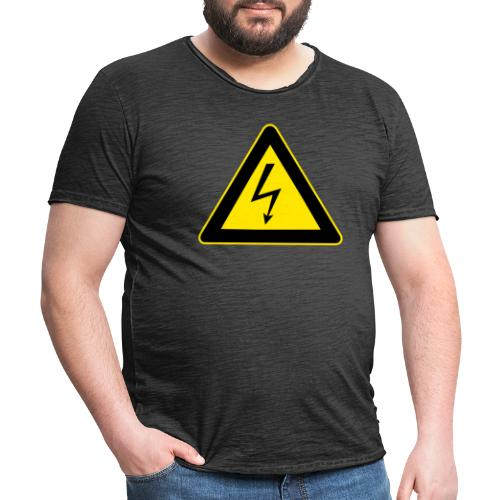 High Voltage - Men's Vintage T-Shirt
