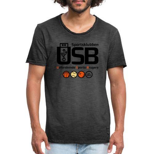 Sportsklubben USB - Herre vintage T-shirt