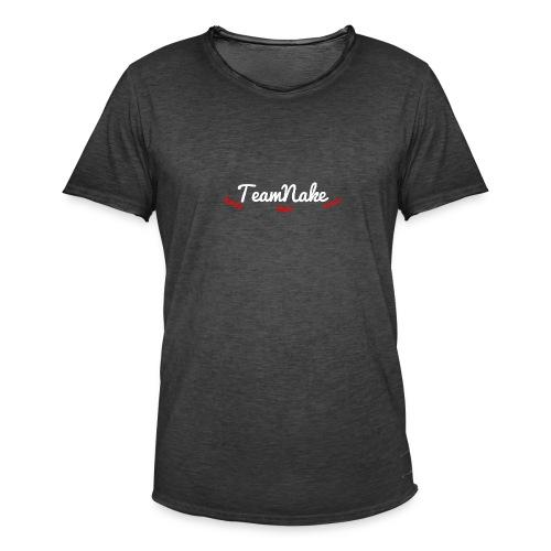 teamnake merch Namen - Mannen Vintage T-shirt