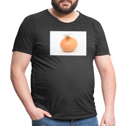 Zwiebel - Männer Vintage T-Shirt