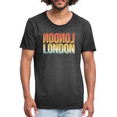 London Souvenir England Simple Name London - Männer Vintage T-Shirt