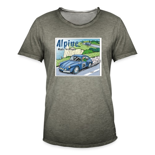 Polete en Alpine 106 - T-shirt vintage Homme