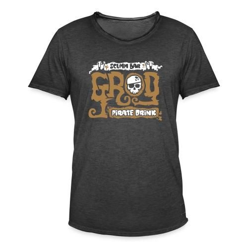 Scumm Bar Grog - Camiseta vintage hombre