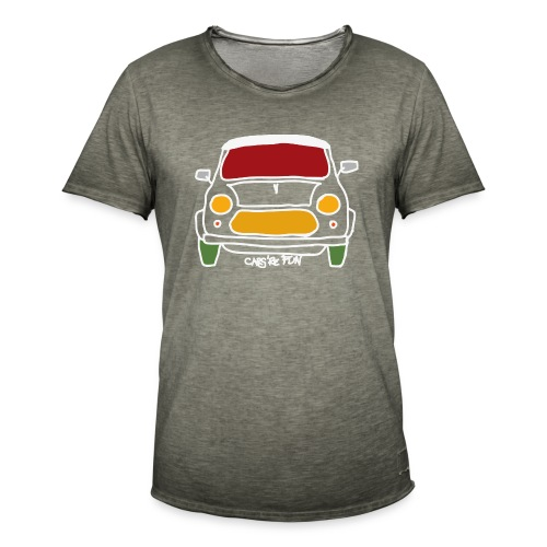 Voiture ancienne anglaise - T-shirt vintage Homme