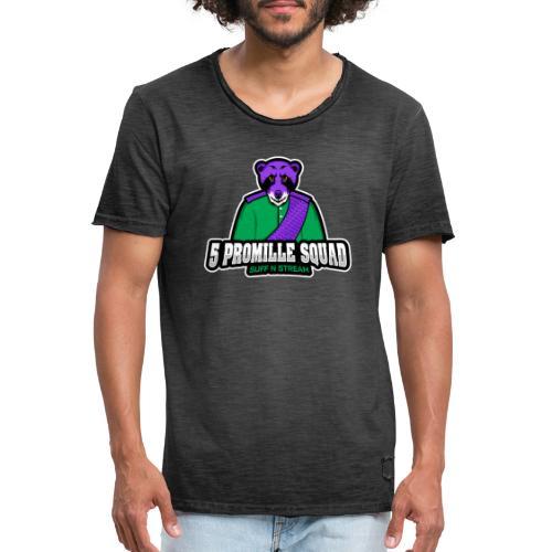 5 Promille Esport Team - Männer Vintage T-Shirt