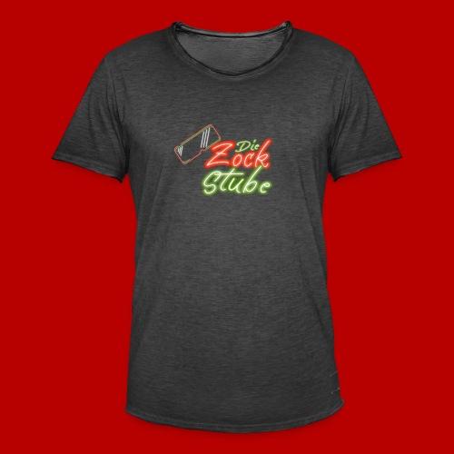 logo quadratisch - Männer Vintage T-Shirt