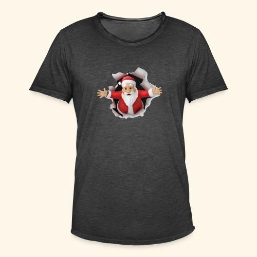 Santa Suprise - Men's Vintage T-Shirt