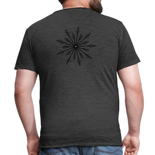 winterkind the mastermind snowflake - Männer Vintage T-Shirt