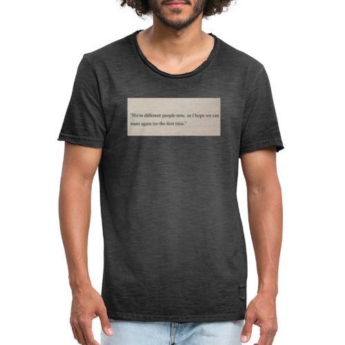Time - Männer Vintage T-Shirt