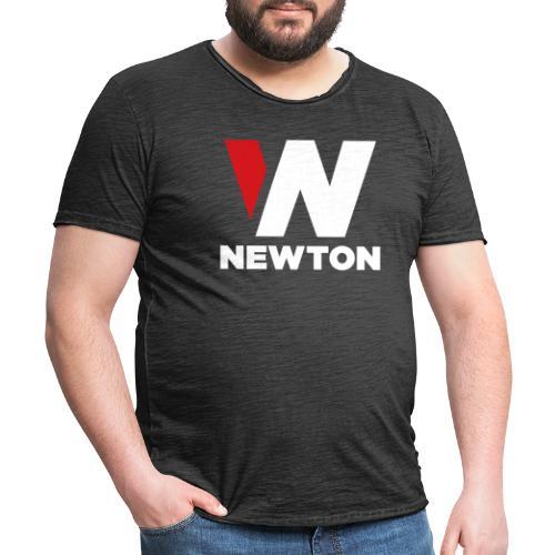 Newtonvaatteet - Miesten vintage t-paita