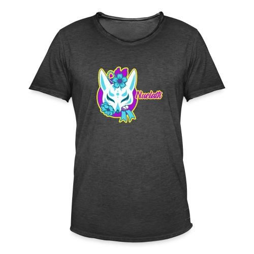 Nuelath fox Logo - Men's Vintage T-Shirt