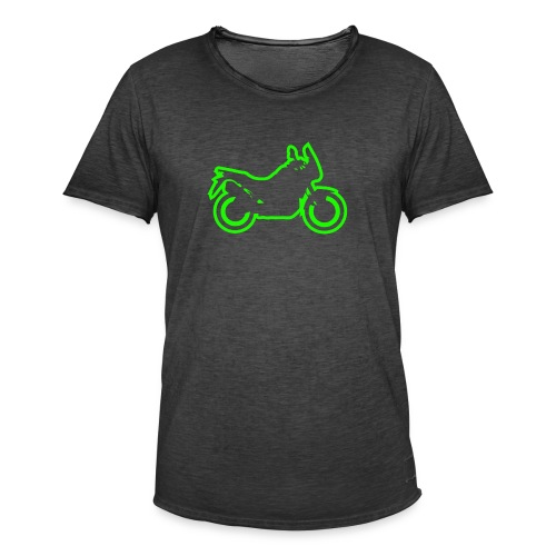 at symbolik gru n - Männer Vintage T-Shirt