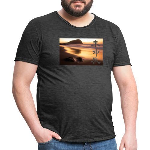 Sunrise - Camiseta vintage hombre