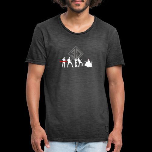 3D 2020 - T-shirt vintage Homme