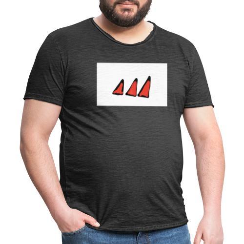 Lalidas - Vintage-T-shirt herr