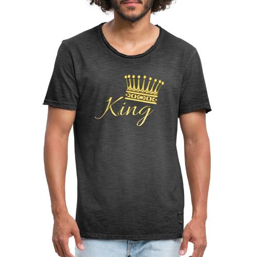 King Or by T-shirt chic et choc - T-shirt vintage Homme